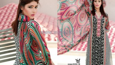 Salam's Textile Summer Dresses 2014 Volume 2 11