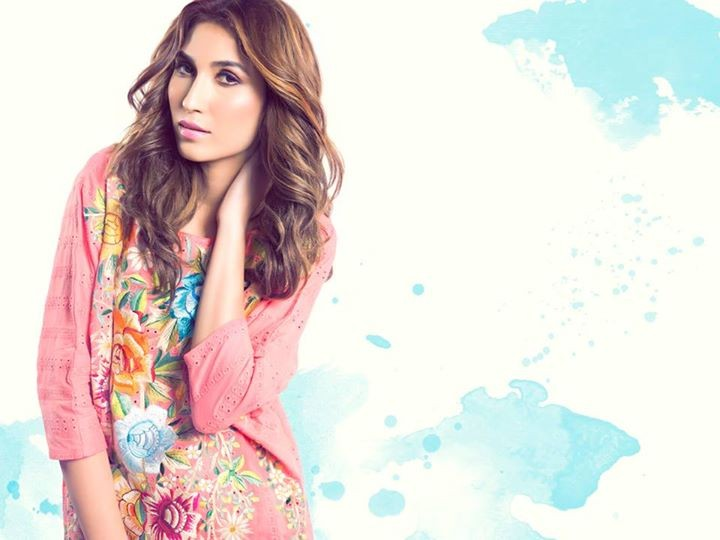 Sanam Chaudhri Summer Dresses 2014 for Women