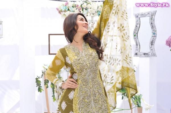 Shaista Lodhi Brand Ambassador Of Nofil Siddiqui Lawn