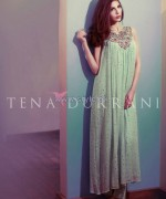 Tena Durrani Party Dresses 2014 For Summer 3