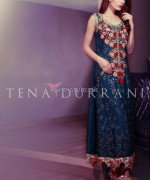 Tena Durrani Party Dresses 2014 For Women 5