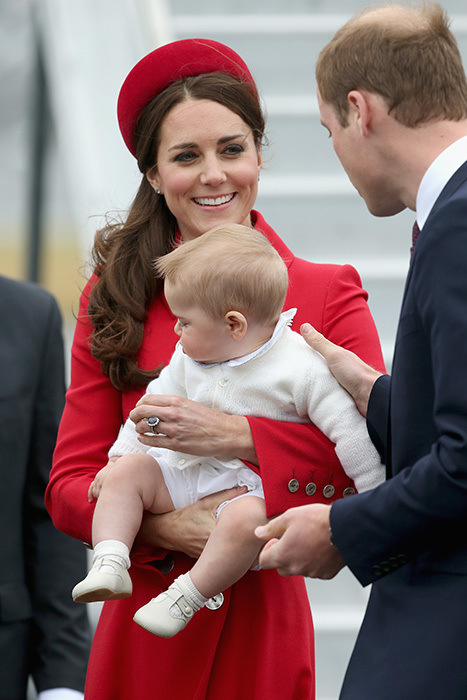 The Royal Family At Royal Tour Pic 05