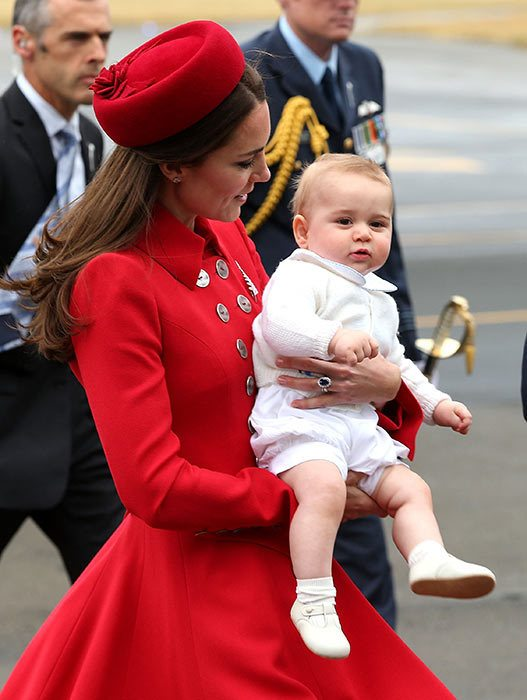 The Royal Family At Royal Tour Pic 06