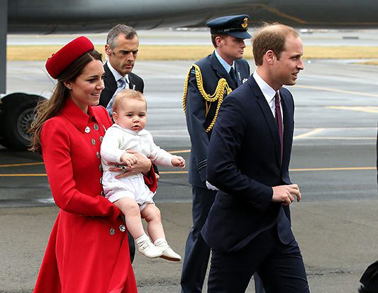 The Royal Family At Royal Tour Pic