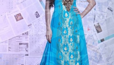Vasim Asghar Summer Dresses 2014 For Women