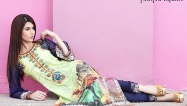Zahra Ahmad Lawn Dresses 2014 for Women