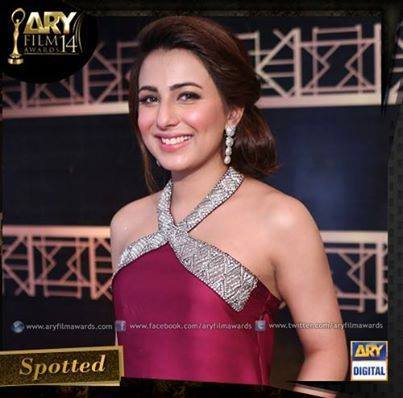 ARY Film Awards Red Carpet Pictures. pic 08