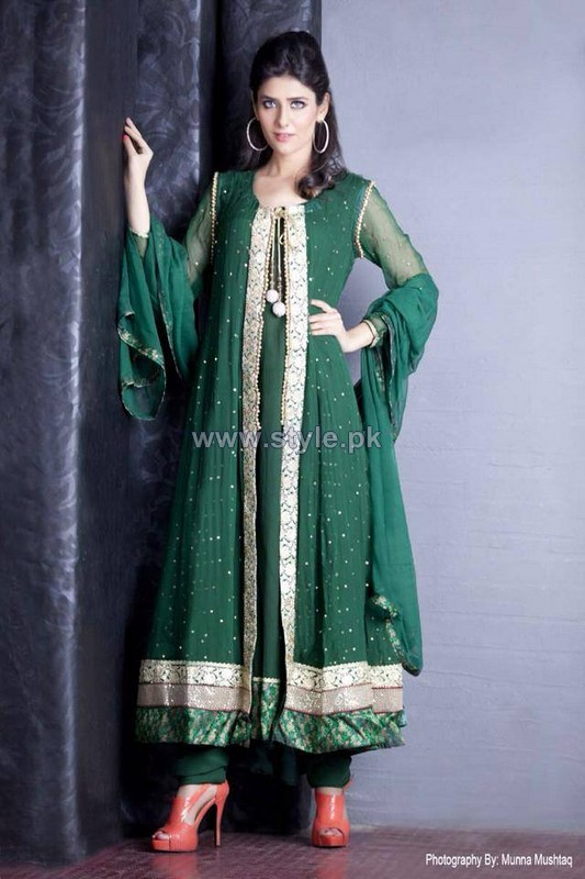 Ambreen Azhar Formal Dresses 2014 For Women 9