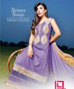 Ayesha Samia Lawn Dresses 2014 by Dawood Lawns 1