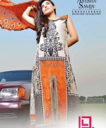 Ayesha Samia Lawn Dresses 2014 by Dawood Lawns 2