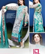 Ayesha Samia Lawn Dresses 2014 by Dawood Lawns 5