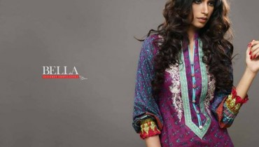 Bella Lawn by Shariq Textiles 2014 for Women