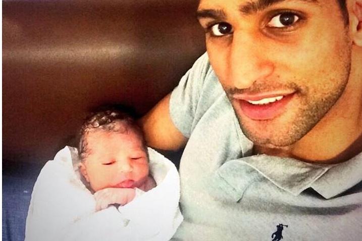 Boxer Amir Khan's Baby Name LAMYSA