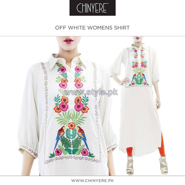 Chinyere Casual Shirts 2014 For Girls 1