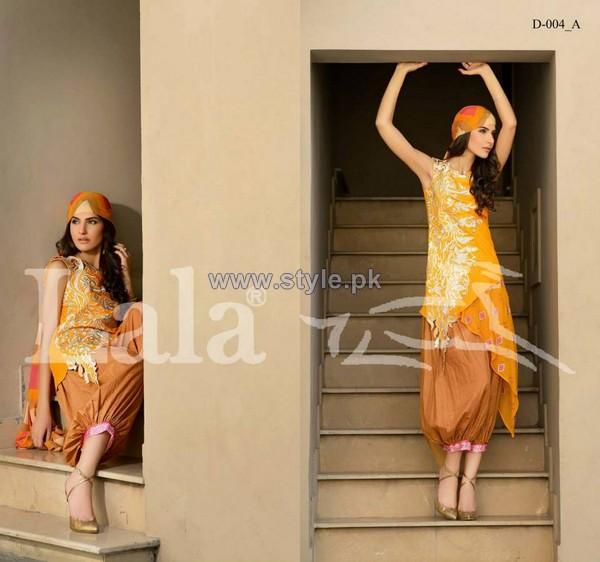 Dahlia Lawn Dresses 2014 By Lala Textiles 5