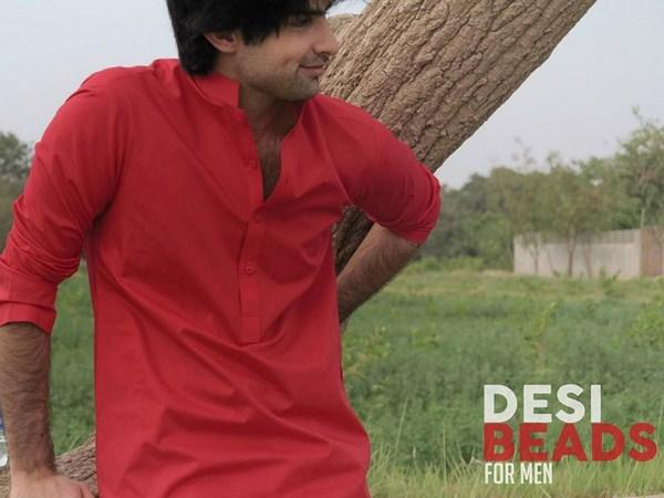 Desi Beads Summer Dresses 2014 For Men 0011