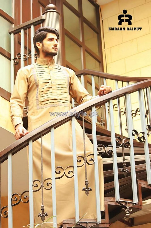 Emraan Rajput Kandooras Collection 2014 For Men 1