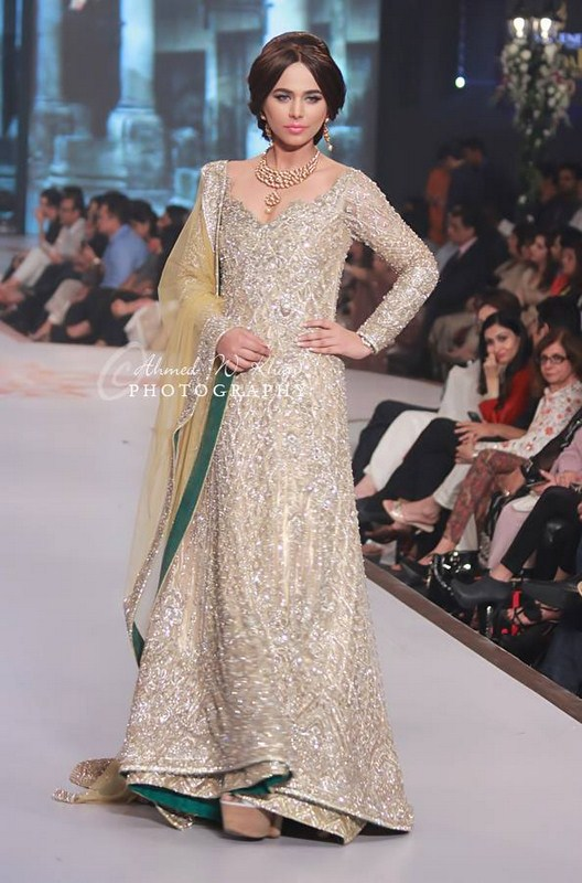 Faraz Manan Collection At Pantene Bridal Couture Week 2014