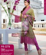 Gul Ahmed Prima Lawn Dresses 2014 For Women 7