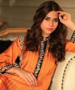 Gul Ahmed Semi-formal Wear Dresses 2014 for Women