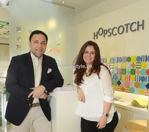 Harris Syed and Romana Abdullah at Launch Of  Kidswear brand Hopscotch
