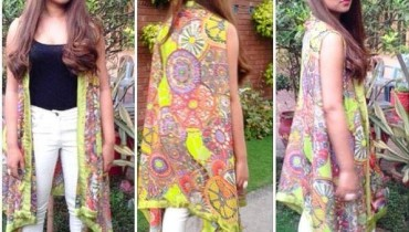 Heena Ayub Summer Dresses 2014 For Women 005
