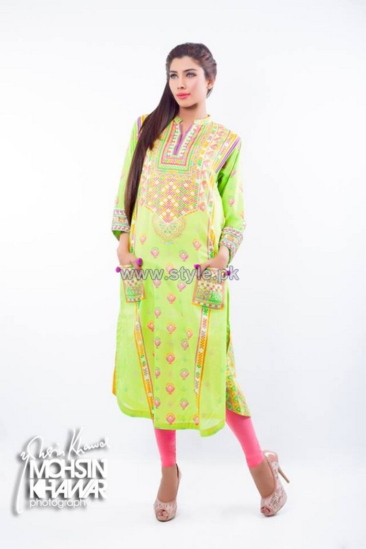 Kayseria Pret Wear Dresses 2014 For Women 3