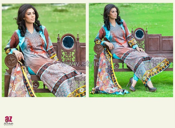 Monsoon Lawn Dresses 2014 Volume 2 For Summer 8