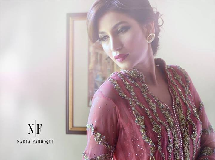 Nadia Farooqui Formal Wear Dresses 2014 for Women