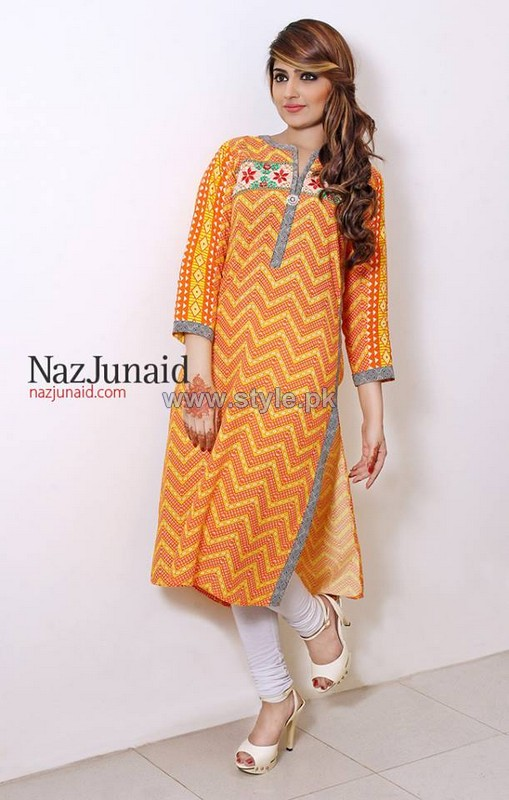 NazJunaid Summer Clothes 2014 For Girls 3