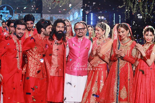 Nomi Ansari Collection At Pantene Bridal Couture Week 2014 001