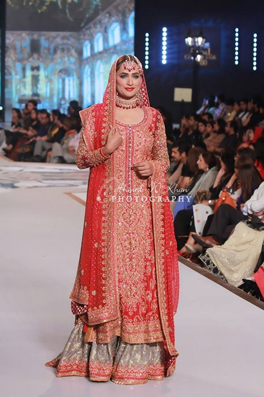 Nomi Ansari Collection At Pantene Bridal Couture Week 2014 006