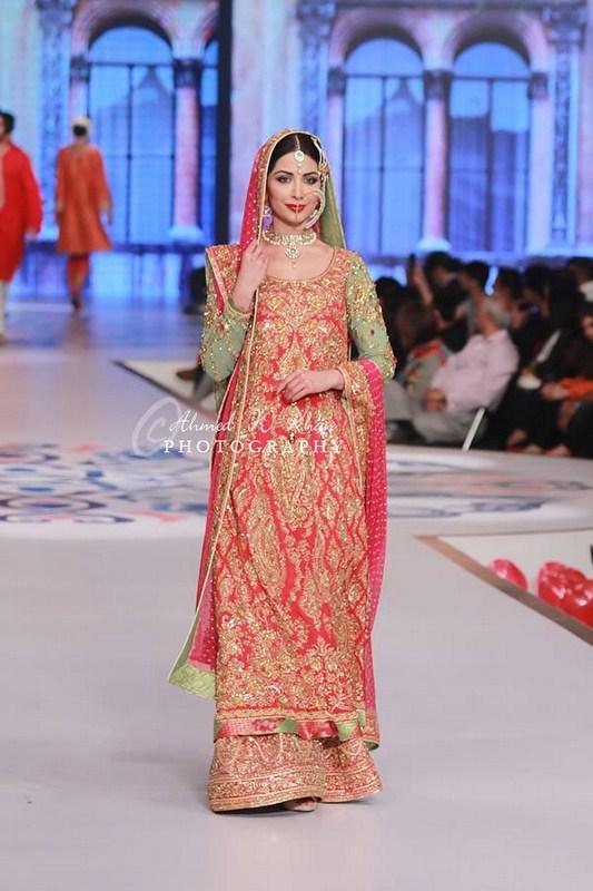 Nomi Ansari Collection At Pantene Bridal Couture Week 2014