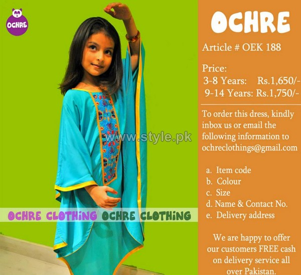 Ochre Clothing Summer Dresses 2014 For Kids 9