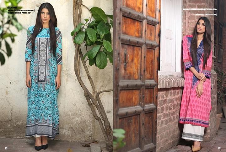 Orient Textiles Summer Dresses 2014 Volume 3