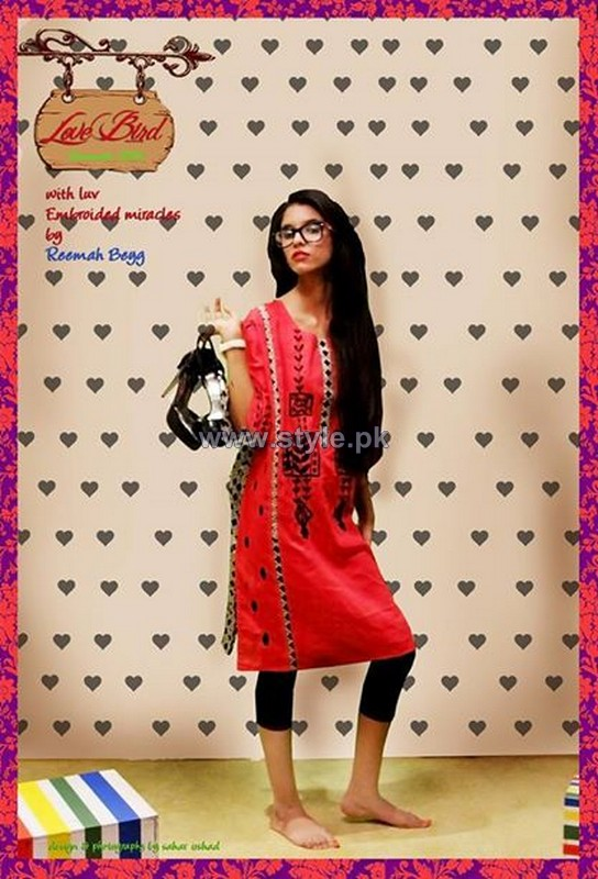 Reemah Beyg Casual Dresses 2014 For Women 6
