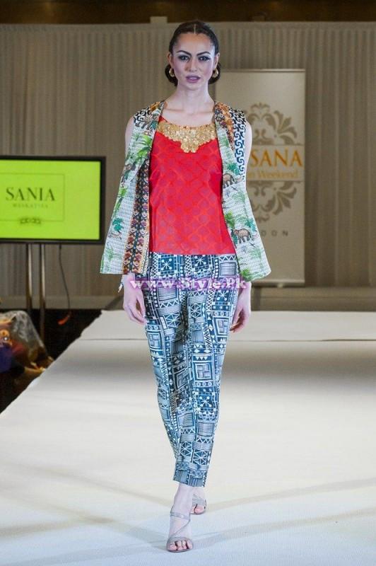 Sania Maskatiya showcase in London at Faisana Fashion Weekend 009