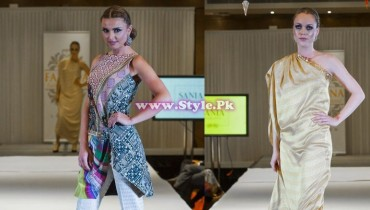 Sania Maskatiya showcase in London at Faisana Fashion Weekend