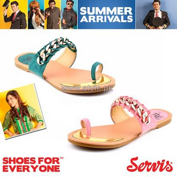 Servis Summer Foot Wears 2014 For Girls 5