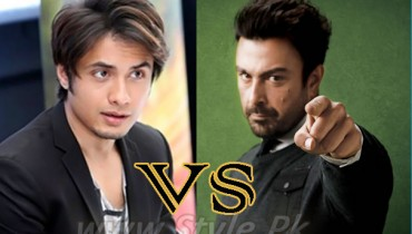 Shaan And Ali Zafar Word War Of Patriotism pic