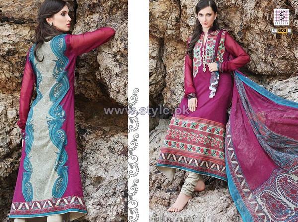 Shaista Cloth Lawn Prints 2014 For Summer 4