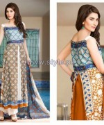 Shariq Textiles Riwaj Lawn Prints 2014 For Summer 5