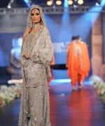 Trend Of Grey Bridal Dresses 2014 For Walima Function 001