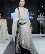 Trend Of Grey Bridal Dresses 2014 For Walima Function 0011