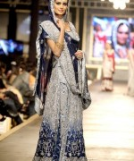 Trend Of Grey Bridal Dresses 2014 For Walima Function 002