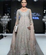 Trend Of Grey Bridal Dresses 2014 For Walima Function 004