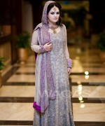 Trend Of Grey Bridal Dresses 2014 For Walima Function 005