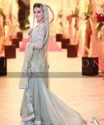 Trend Of Grey Bridal Dresses 2014 For Walima Function 008