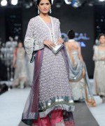 Trend Of Grey Bridal Dresses 2014 For Walima Function 009