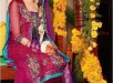Trends of Multi Color Mehndi Dresses 2014 008